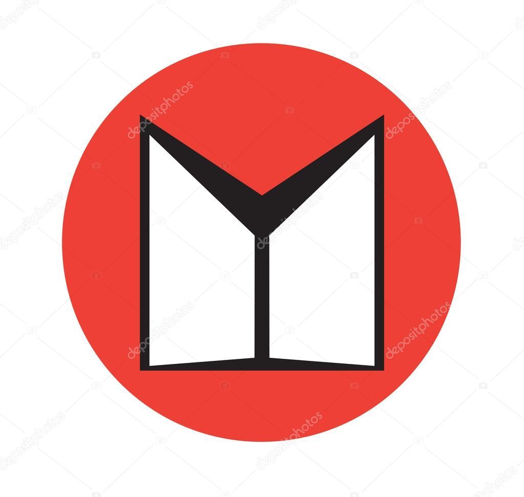 Double Door Icon Design Stock Vector Sdcrea 125530626