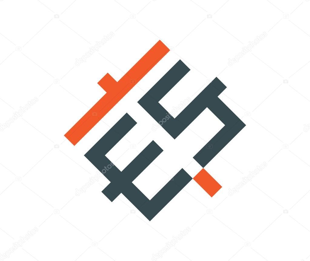 Es Logo Monogram Stock Vector C Sdcrea 125531162