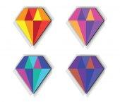 sada ikon Diamond