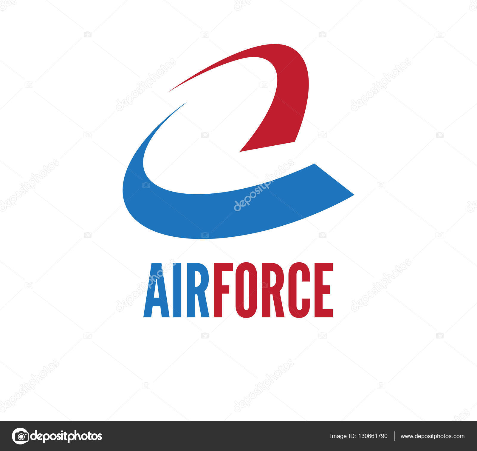Air force logo stock vector sdcrea 130661790 air force logo stock vector voltagebd Images