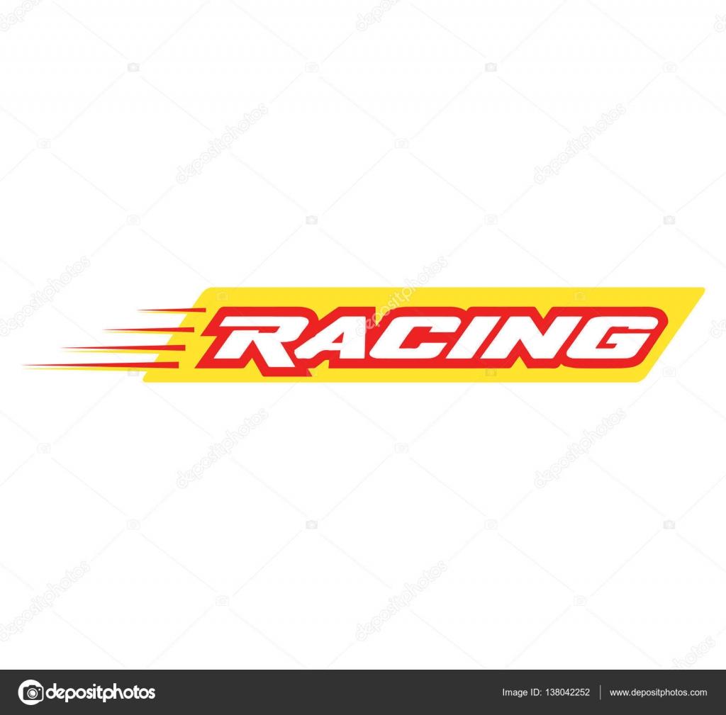 racing logo design stock vector sdcrea 138042252