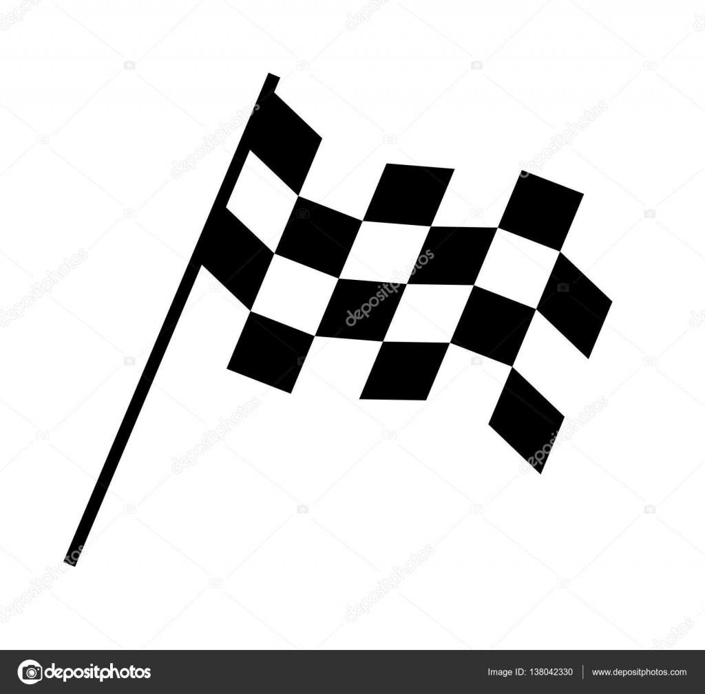 checkered flag design stock vector sdcrea 138042330 rh depositphotos com checkered flag vector clipart free vector checkered flag clip art