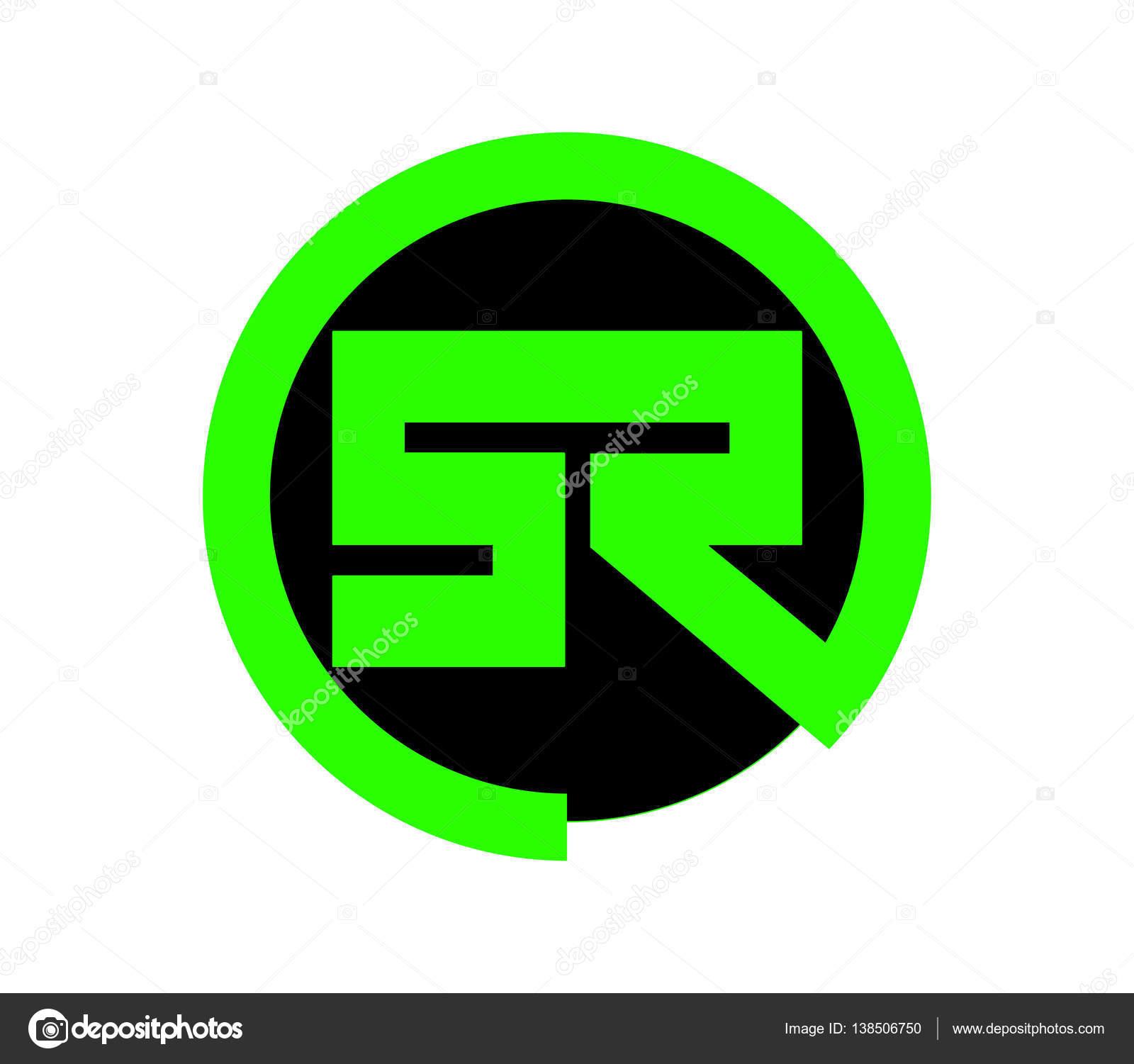 green sr logo design � stock vector 169 sdcrea 138506750