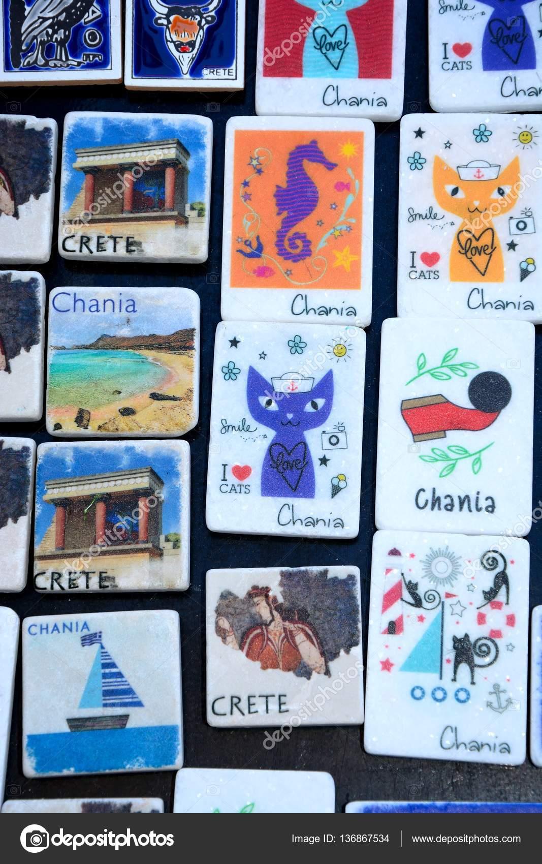 Chania-Kühlschrank-Magnete für Verkauf, Chania, Kreta ...