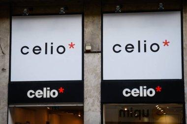 Milan, Italy - September 24, 2017:  celio store in Milan. Fashio