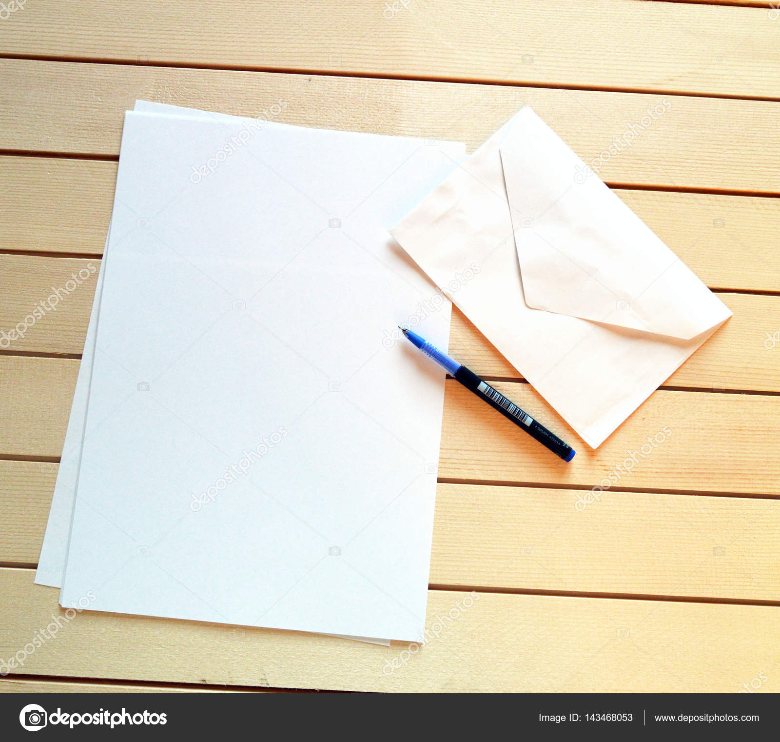 Letter Envelope And Pen To Write Letters Stock Photo C Kodbanker