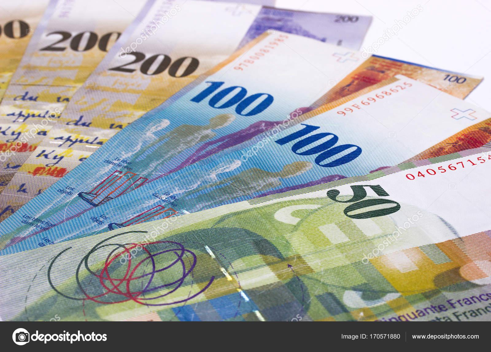 schweizer franken geld