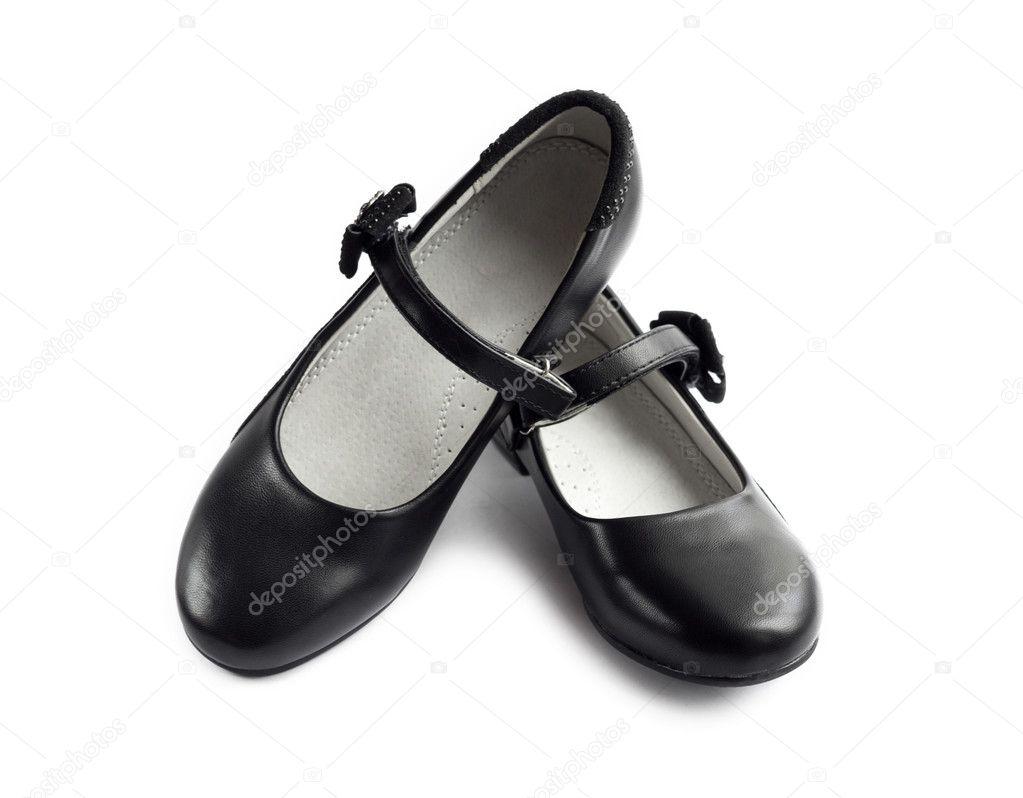 Zapatos negros para niña SgoEF