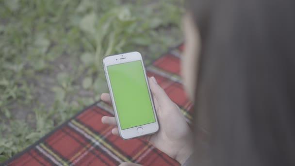 Green Screen mobilní telefon 4k Apple iphone
