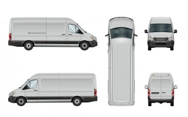 White van template