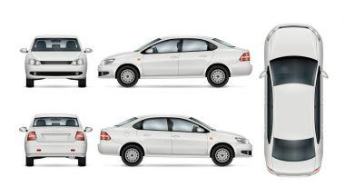 Car vector template