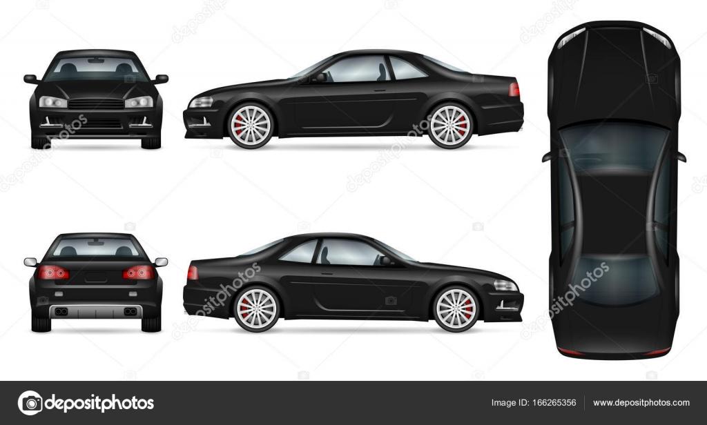 Sport Auto Vektor Vorlage — Stockvektor © imgvector #166265356