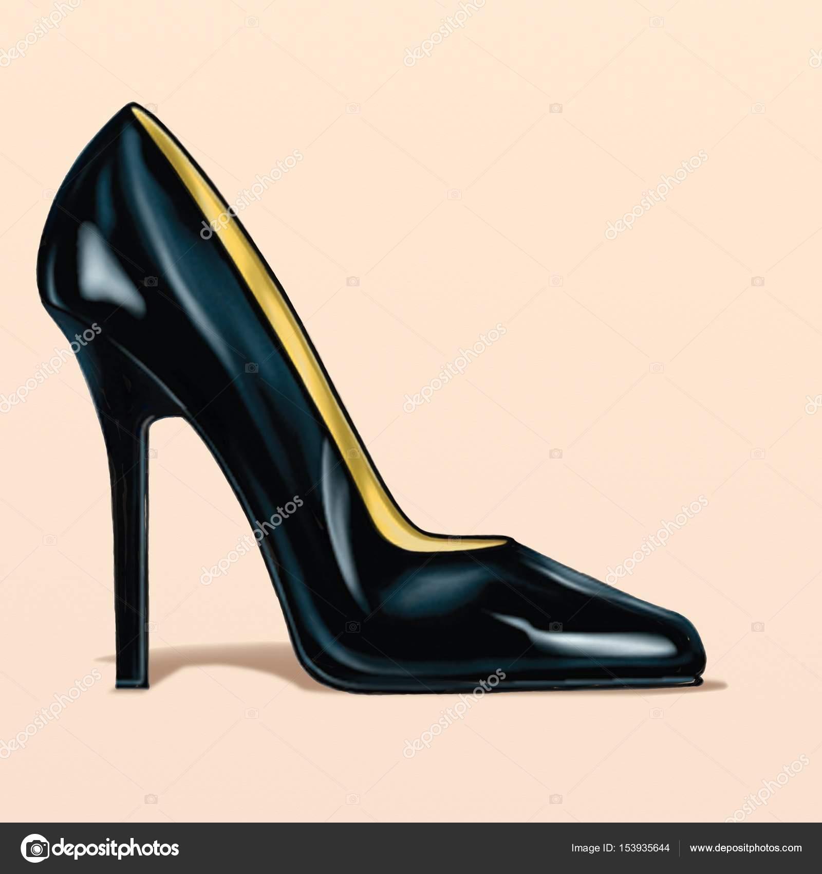 Stiletto EspañolHeel Foto De Stock Descargar — Shoe ulwPiOkXZT