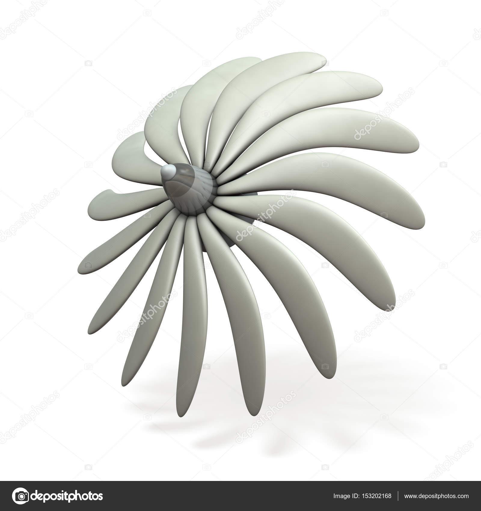 Eine imaginäre Turbine-Bild — Stockfoto © CYCLONEPROJECT #153202168