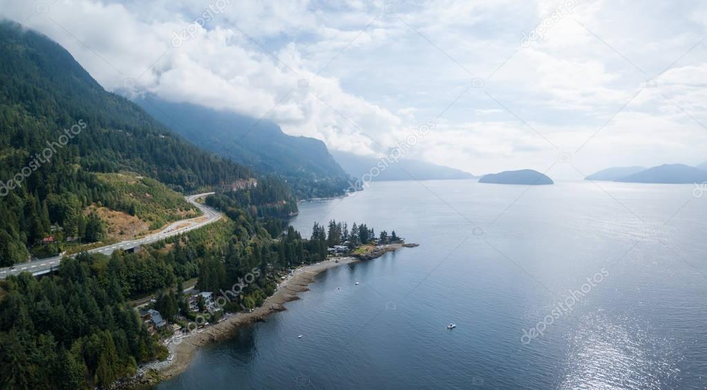 Howe Sound Aerial