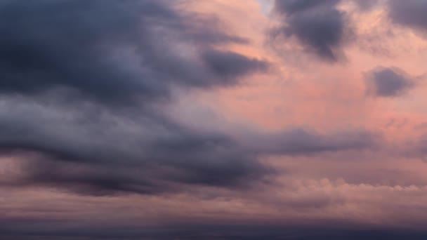 Cinemagraph Continuous Loop Animation of Beautiful Cloudscape during Sunset
