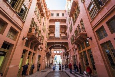 Casa de Cultura Mario Quintana, old Majestic Hotel, in downtown Porto Alegre, Rio Grande do Sul, Brazil