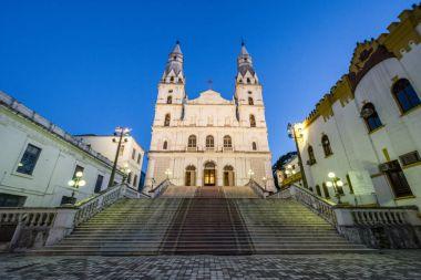 Nossa Senhora das Dores Church in the historic downtown of Porto Alegre, Rio Grande do Sul, Brazil