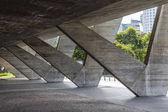 Photo Modern architecture,museum of modern art in Aterro do Flamengo (Flamengo Landfill)