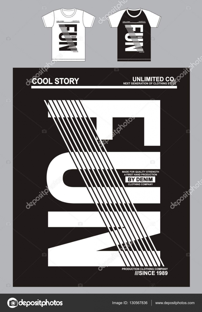 Typography Shirt Designs Typography For T Shirt Design Clothing Fun Typography Sports Vector Stock Vector C Haerafandi 130567836