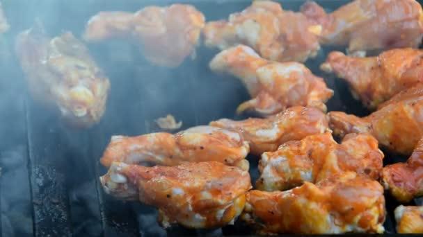 A grill csirke szárny