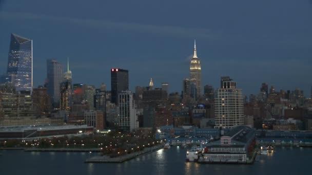 Panoráma New Yorku v noci, část 3