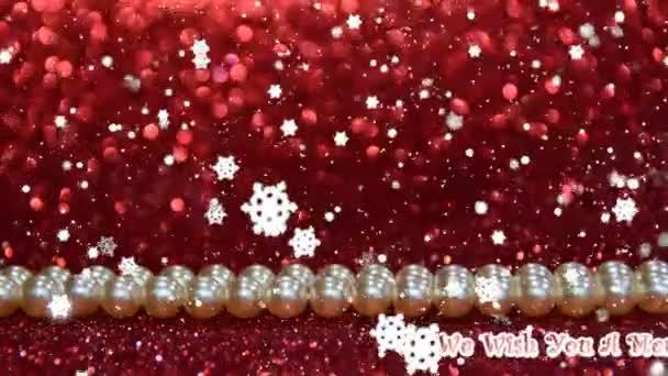 Přejeme vám veselé Vánoce a šťastný nový rok text, vánoční stromky a sobů se sněhem