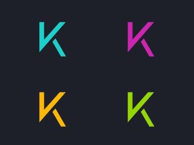 K letter logos symbols