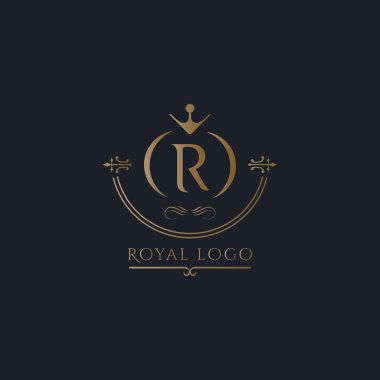 R letter Royal  logo