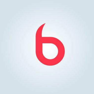 B letter logo icon