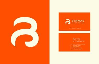 B Letter Logo Business Cards