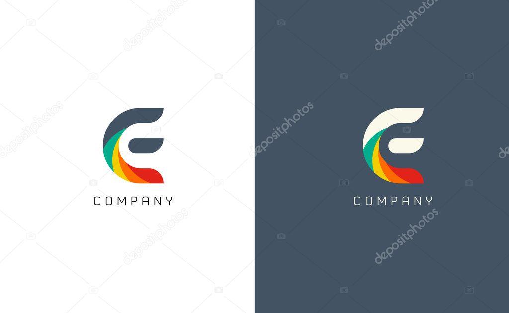 E letter logos symbols