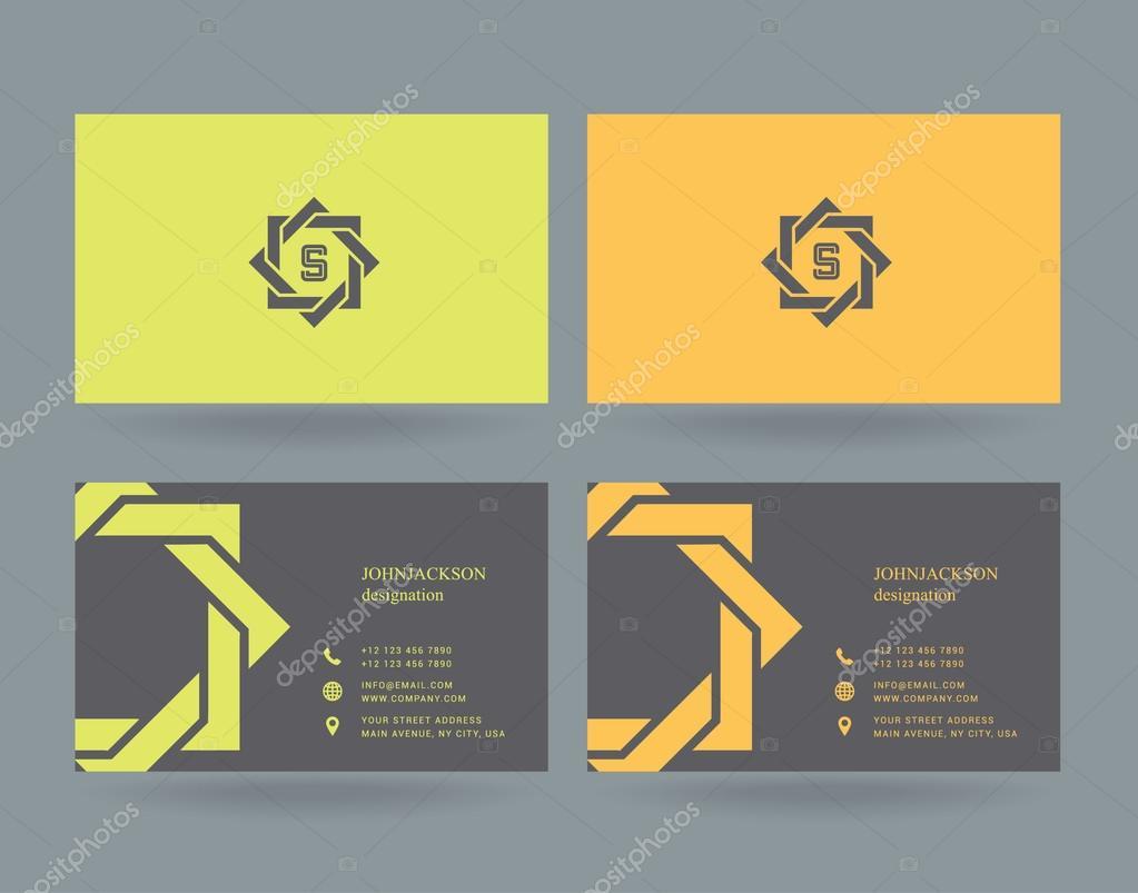Icone Du Logo Lettre S Avec Des Cartes Vectorielles Vecteur Par Brainbistro