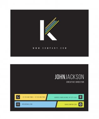 K Letter icon logo