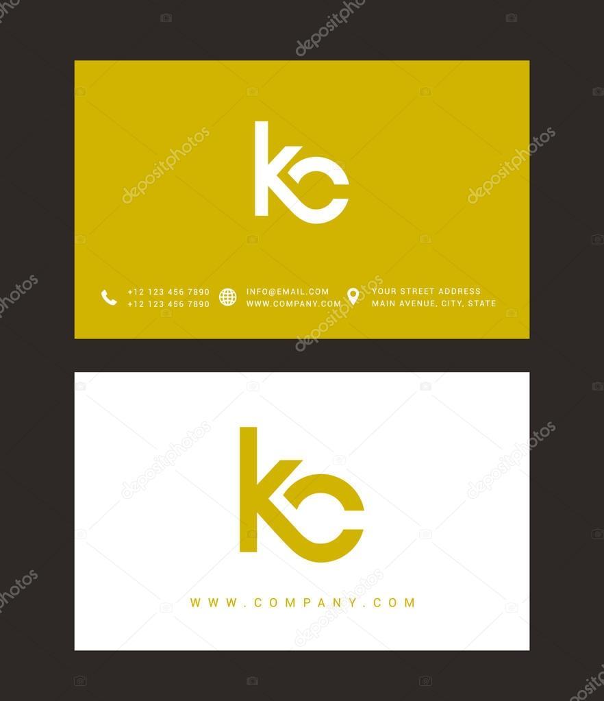 Diseño de logotipo de carta moderna — Archivo Imágenes Vectoriales ...