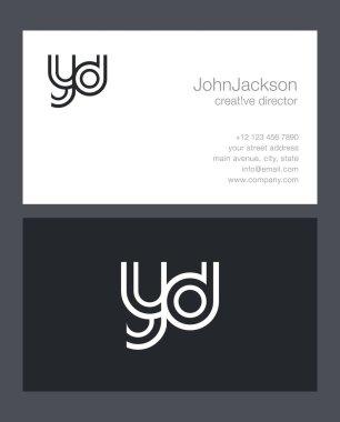 Y & D Letter Logo