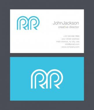 R & R Letter Logo