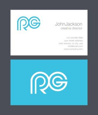 R & G Letter Logo