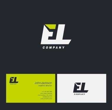 E & L Letter Logo