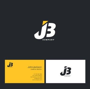 J & B Letter Logo