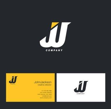 J & J Letter Logo