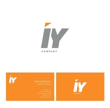 I & Y Letter Logo
