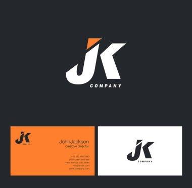 J & K Letter Logo