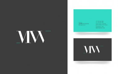 M & W Letter Logo