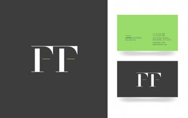 F & F Letter Logo