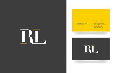 R & L Letter Logo