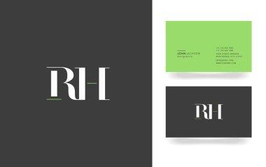 R & H Letter Logo