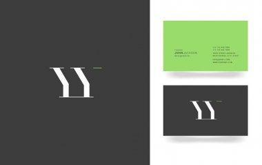 Y & Y Letter Logo
