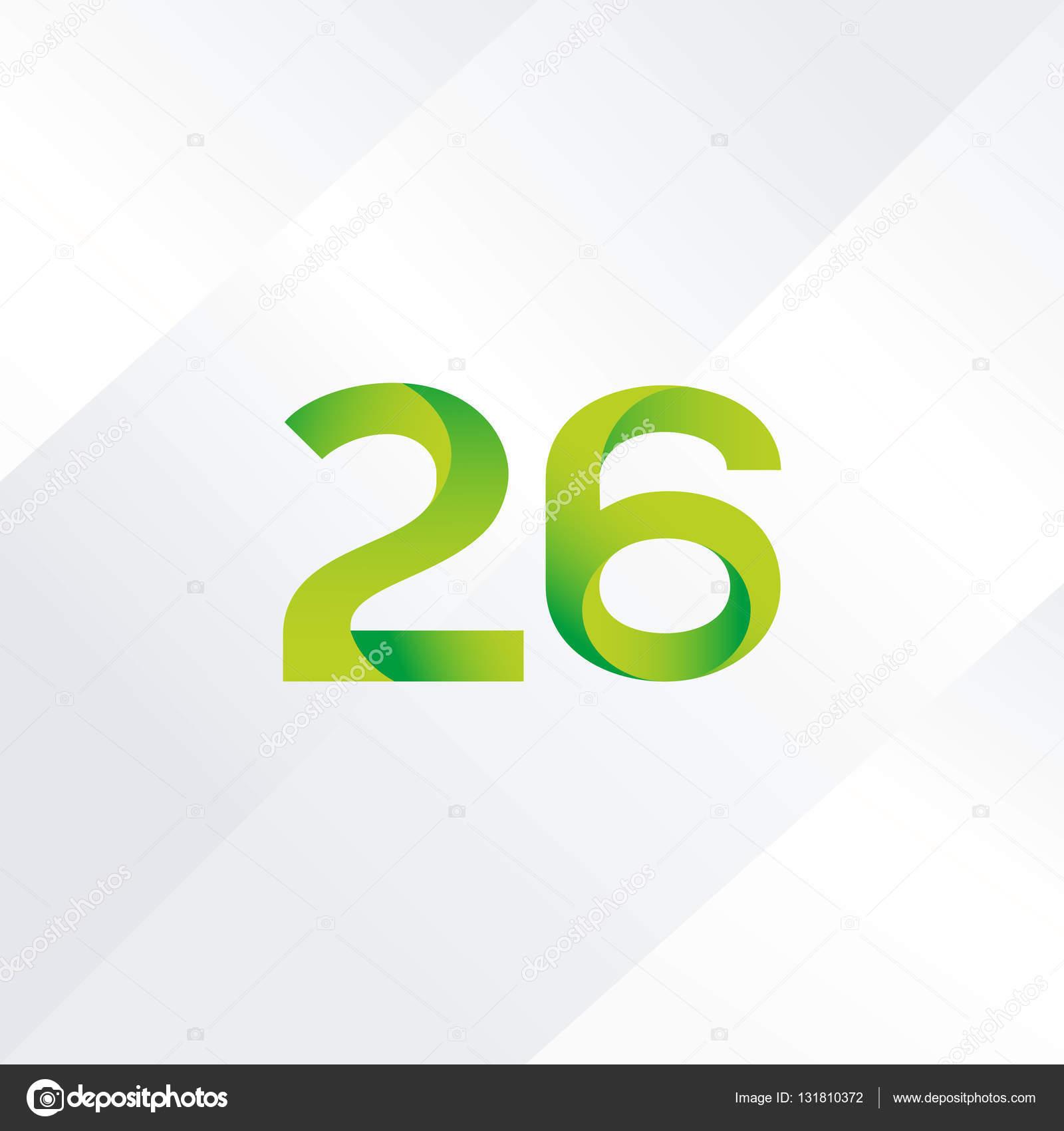 5fdaef1449a49 26 número ícone do logotipo — Vetor de Stock © brainbistro  131810372