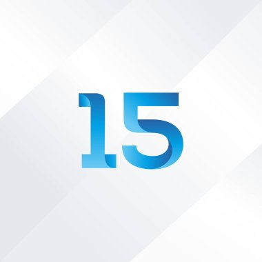 15 number Logo Icon